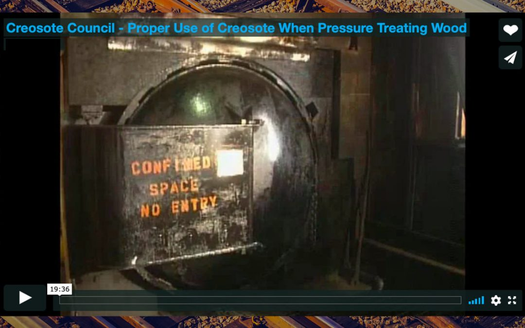 Video: Creosote Council – Proper Use of Creosote When Pressure Treating Wood