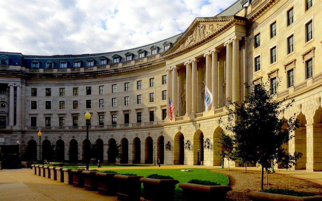 EPA headquarters building washington dc creosote regulation